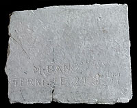 « M. Band Mle 555 _ [IN]TERNE le 21.8.[19]41 ».